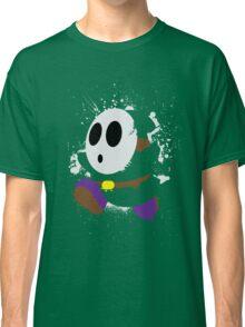 Splattery Shy Guy Style 2 Classic T-Shirt