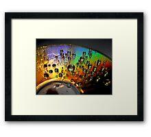 cosmic bubbles Framed Print