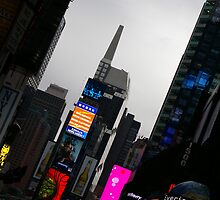 Times Square by Nixter