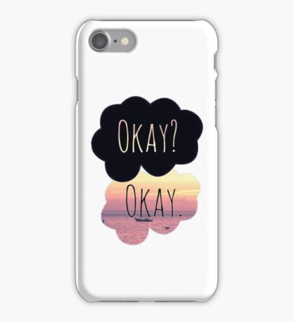 The Fault In Our Stars Sunset Okay Clouds iPhone Case/Skin