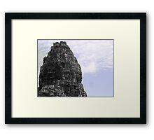 Stone Guardians Framed Print