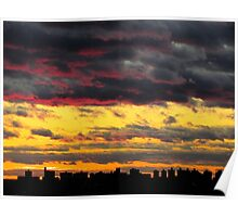 Marble sky, New York City  Poster