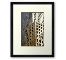 42nd Street New York City Framed Print