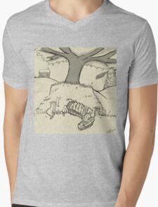 Dragonhill Mens V-Neck T-Shirt