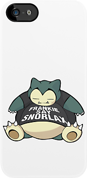 Frankie Say Snorlax by Christian Petersen