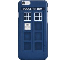 TARDIS In Your Pocket iPhone Case/Skin