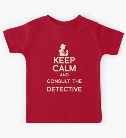 Consult the Detective Kids Tee