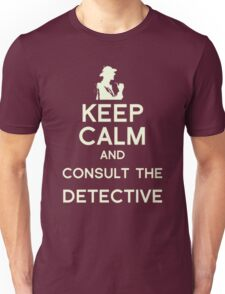 Consult the Detective Unisex T-Shirt