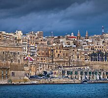 Valletta Victoria Gate Malta (Manual Focus - Handheld) by Edwin  Catania