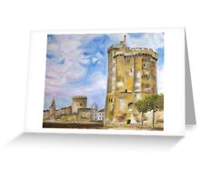La Rochelle Greeting Card