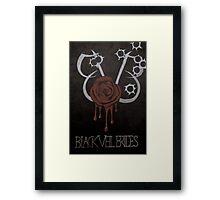 Black Veil Brides Fanart Framed Print