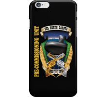 SSN-784  Pre-commissioning Unit Crest for Dark Colors iPhone Case/Skin