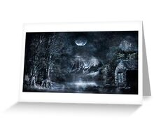 Magical Night Greeting Card