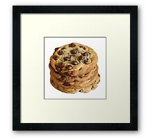 Chocolate Chip Cookies Framed Print
