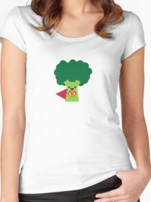 Super Broccoli Women's Fitted Scoop T-Shirt