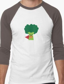 Super Broccoli Men's Baseball ¾ T-Shirt