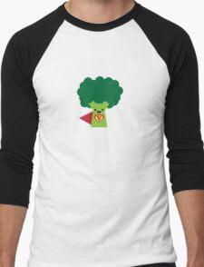 Super Broccoli Men's Baseball ¾ T-Shirt