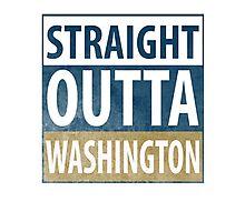 Straight Outta Washington Photographic Print