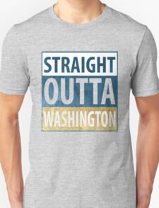 Straight Outta Washington T-Shirt