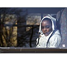 on the bus Photographic Print