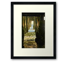 Amid the Pilons Framed Print