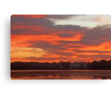 Stony Creek Lake Undisturbed Canvas Print
