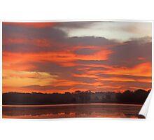 Stony Creek Lake Undisturbed Poster
