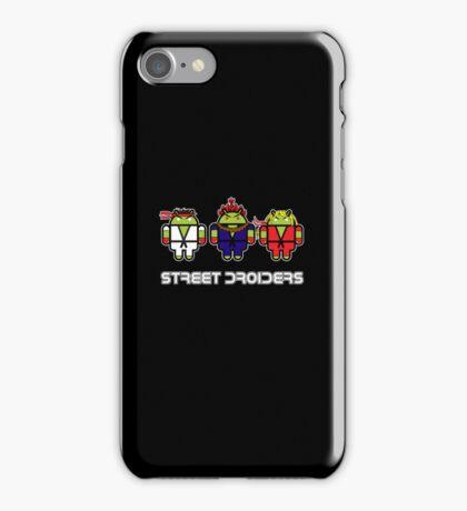 Street Droiders (Ryu, Akuma, Ken) iPhone Case/Skin