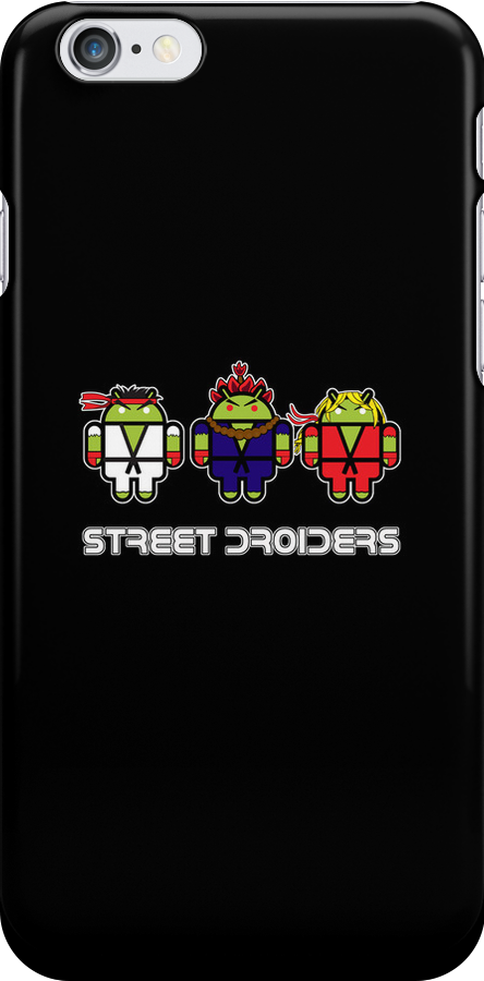Street Droiders (Ryu, Akuma, Ken) by soulthrow
