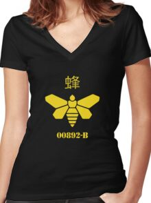 Methylamine (CH3NH2) Women's Fitted V-Neck T-Shirt