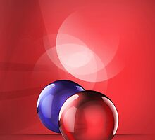 iCase Red Balls by ♛ VIAINA