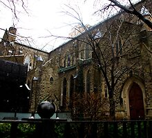 St. Paul's Anglican Church Toronto by MarianBendeth