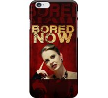 If only the caller could see Pam's face iPhone Case/Skin