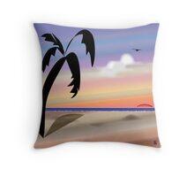 Florida Sunset  Throw Pillow