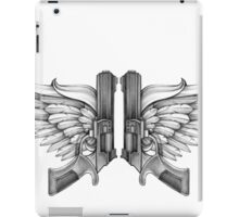 guns and wings iPad Case/Skin