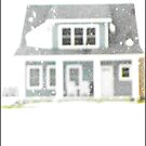 House in the Snow by Tim Ruane