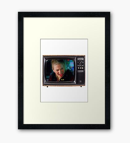As If! Framed Print