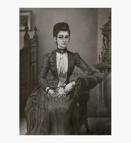 Victorian Beauty Photographic Print