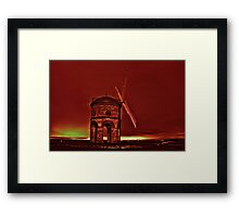 Chesterton in the dead of night HDR Framed Print