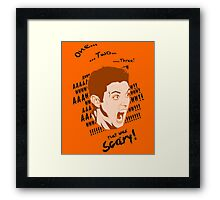 Dean Ghost sickness Framed Print