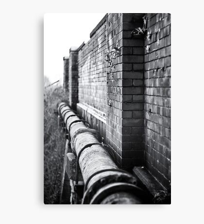 Pipe View Canvas Print