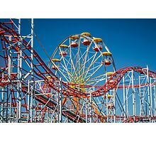 Coaster And Ferris Photographic Print
