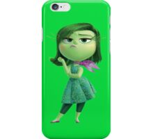 INSIDE OUT - DISGUST 01 iPhone Case/Skin