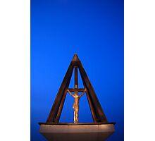 Hilltop shrine to Jesus Christ Photographic Print