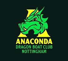 Notts Anaconda Dragon boat club by Christian Burton