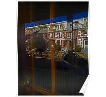 Neighborhood Reflections - Washington, DC Poster