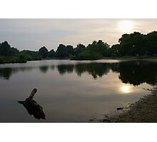 Evening At the Lake Photographic Print