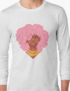 Rose Heart Long Sleeve T-Shirt