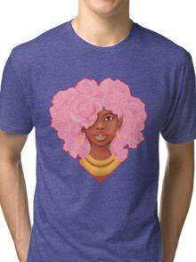 Rose Heart Tri-blend T-Shirt