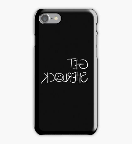 Get Sherlock Reflection in White iPhone Case/Skin